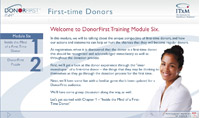Donor First Training Series